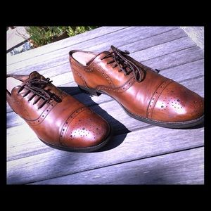 Johnston & Murphy Tyndall - Men Size 12M  Cap Toe